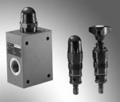 Bosch Rexroth DBDH6G1X/315 Pressure relief valve, direct operated